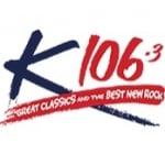 Logo da emissora Radio CHKS 106.3 FM