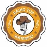 Logo da emissora Rádio Top Sertanejo