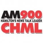 Logo da emissora Radio CHML 900 AM