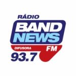 Logo da emissora Rádio BandNews Difusora 93.7 FM