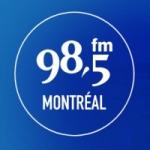 Logo da emissora Radio CHMP 98.5 FM
