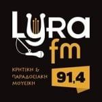 Logo da emissora Lyra 91.4 FM