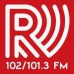 Logo da emissora Radio Frequenza 102 FM