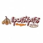 Logo da emissora Radio Erotokritos 87.9 FM