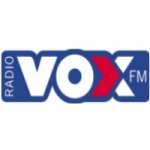 Logo da emissora Rádio Vox FM