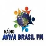 Logo da emissora Rádio Aviva Brasil FM