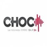 Logo da emissora Radio CHOC 104.9 FM
