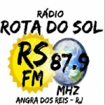 Logo da emissora Rádio Rota do Sol 87.9 FM