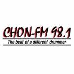 Logo da emissora Radio CHON 98.1 FM