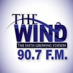 Logo da emissora Radio WPTJ The Wind 90.7 FM