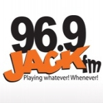 Logo da emissora Radio CHRK Jack 96.9 FM