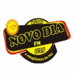 Logo da emissora Rádio Novo Dia FM
