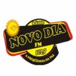 Logo da emissora Novo Dia FM