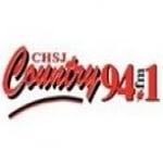 Logo da emissora Radio CHSJ Country 94.1 FM