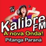 Logo da emissora Rádio Kalibre FM