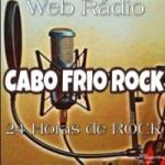 Logo da emissora Rádio Cabo Frio Rock
