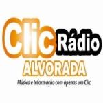 Logo da emissora Clic Radio Alvorada