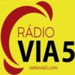 Logo da emissora Rádio Via 5