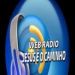Logo da emissora Jesus é o Caminho
