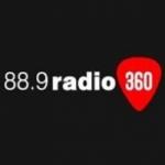 Logo da emissora Radio 360 88.9 FM