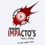 Logo da emissora Radio Impacto's 107.1 FM