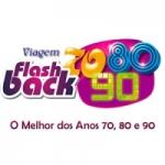 Logo da emissora Viagem Flashback