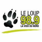 Logo da emissora Radio CHYK Le Loup 98.9 FM
