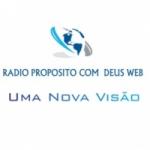 Logo da emissora Rádio Propósito Com Deus