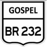 Logo da emissora Gospel BR 232