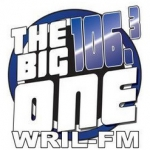Logo da emissora Radio WRIL The Big One 106.3 FM