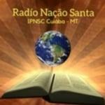 Logo da emissora Rádio Nação Santa IPNSC