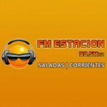 Logo da emissora Radio Estación 99.5 FM