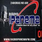 Logo da emissora Rádio Ipanema FM