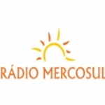 Logo da emissora Rádio Mercosul