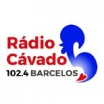 Logo da emissora Rádio Cávado 102.4 FM
