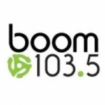 Logo da emissora Radio Boom 103.5