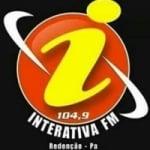 Logo da emissora Rádio interativa Redex 104.9 FM