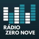 Logo da emissora Zero Nove