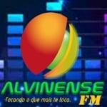 Logo da emissora Alvinense FM