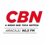 Logo da emissora Rádio CBN Aracaju 90.5 FM