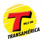 Logo da emissora Rádio Transamérica 90.5 FM