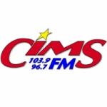 Logo da emissora Radio CIMS 104 FM