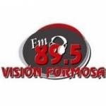 Logo da emissora Radio Vision Formosa 89.5 FM