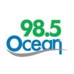 Logo da emissora Radio CIOC Ocean 98.5 FM