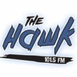 Logo da emissora Radio CIOI The Hawk 101.5 FM