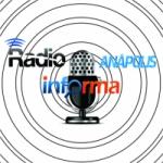 Logo da emissora Rádio Anápolis Informa