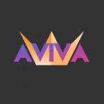 Logo da emissora Rádio Aviva