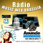 Logo da emissora Music FM Brasília
