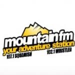 Logo da emissora Radio CISQ Mountain 107.1 FM