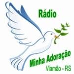 Logo da emissora Rádio Minha Adoração